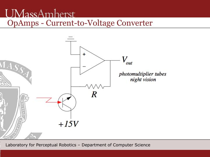 OpAmps - Current-to-Voltage Converter