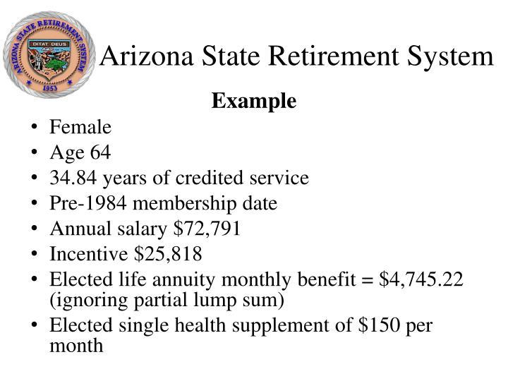 Arizona State Retirement System
