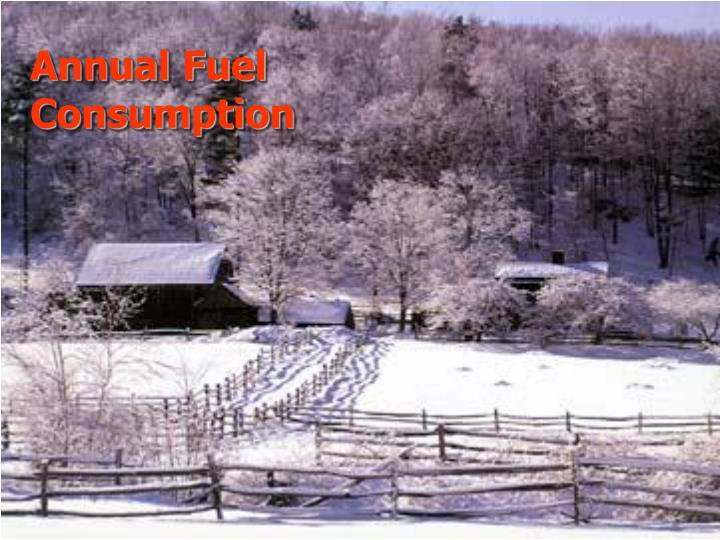 Annual Fuel Consumption