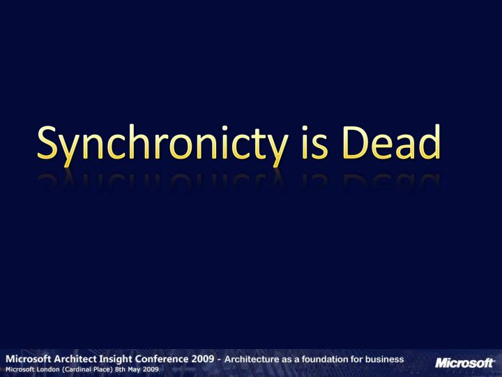 Synchronicty