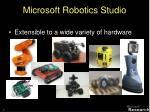 microsoft robotics studio1
