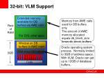32 bit vlm support1