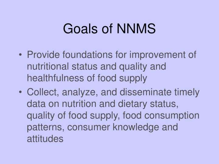 Goals of NNMS