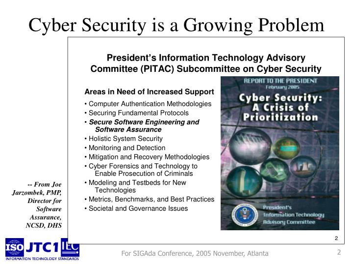 Cyber security is a growing problem