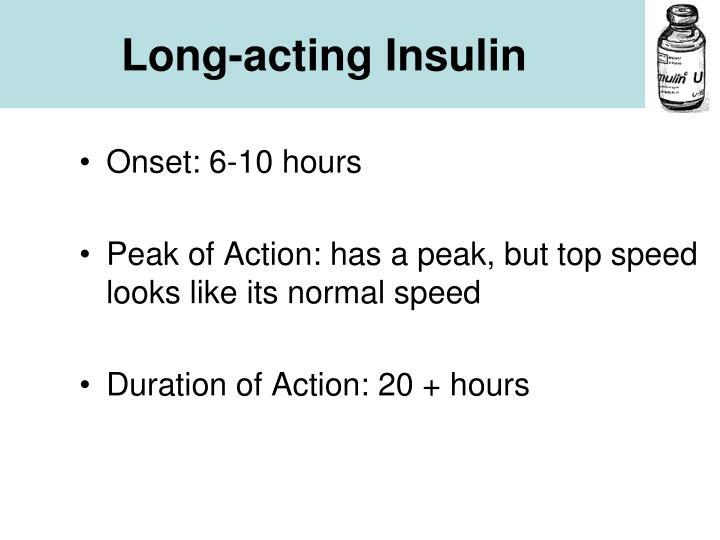 Long-acting Insulin