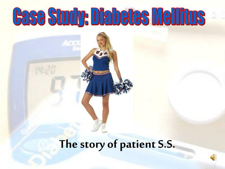 The story of patient S.S.
