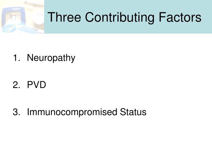 Three Contributing Factors