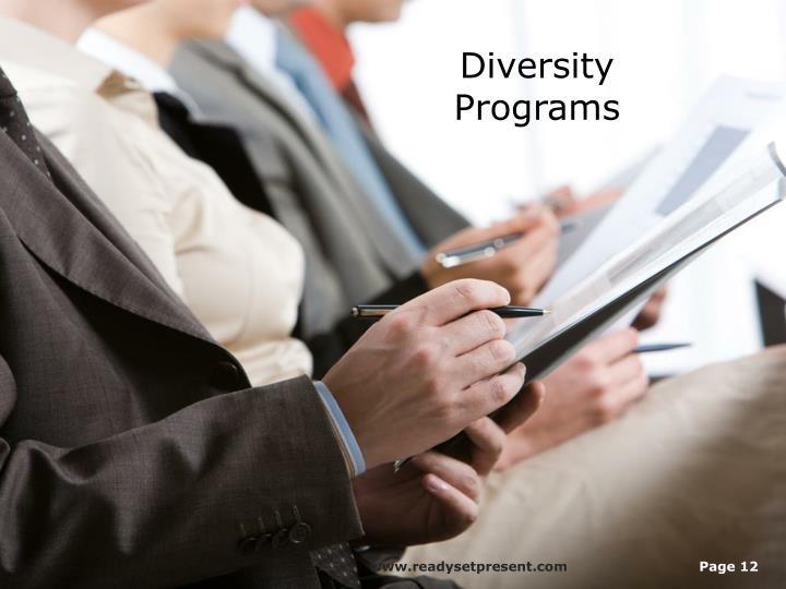 Diversity Programs