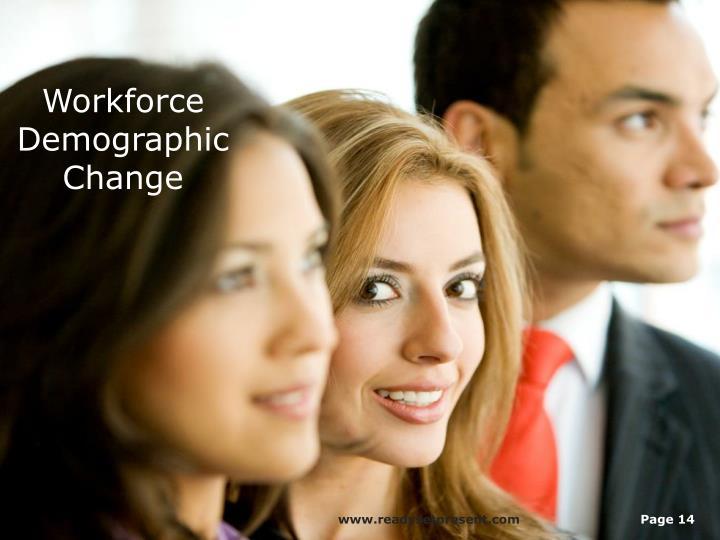 Workforce Demographic Change