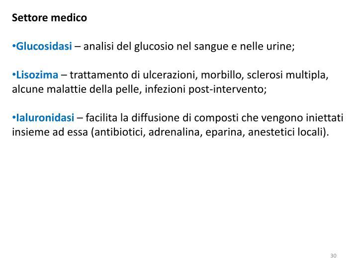 Settore medico