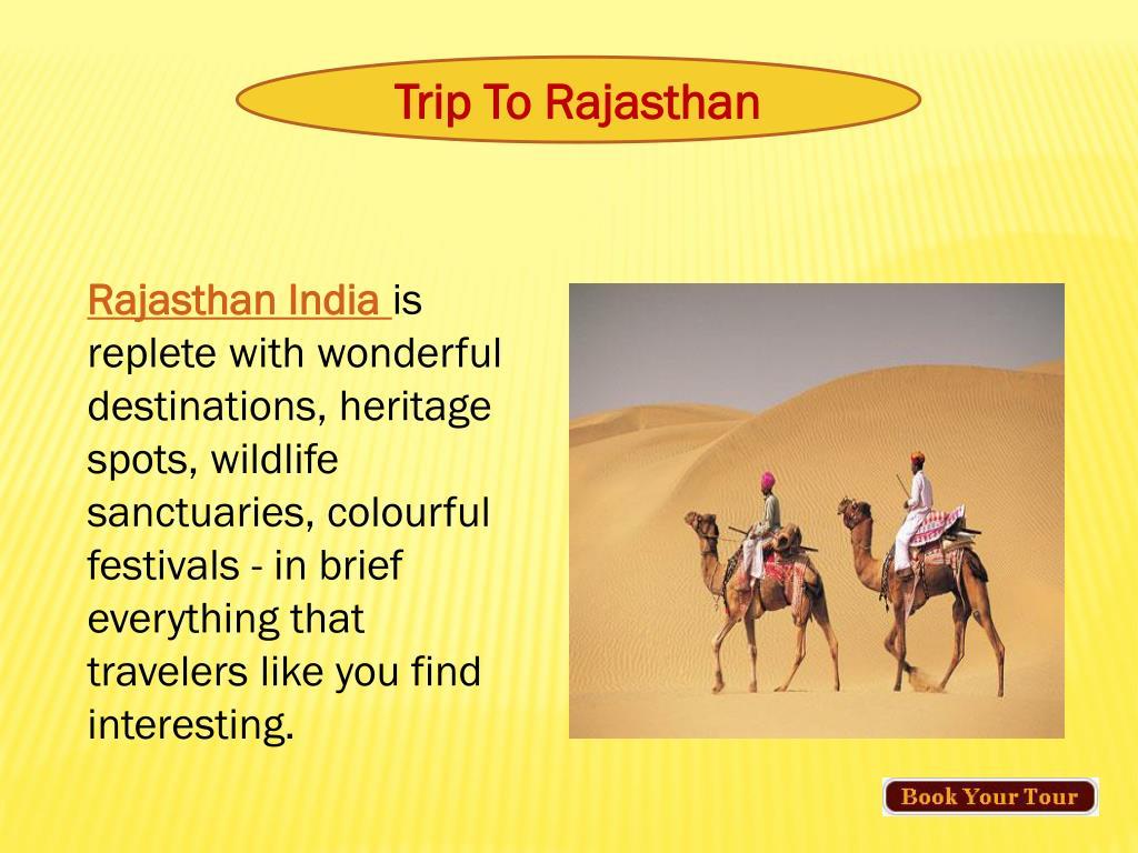 Trip To Rajasthan