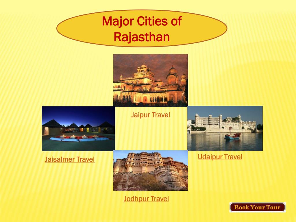 Major Cities of Rajasthan