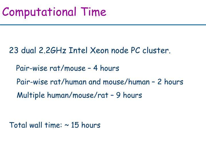 Computational Time