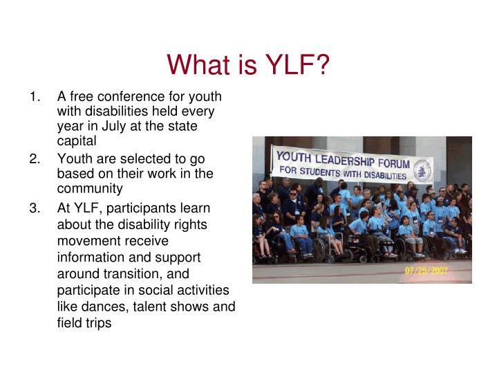 What is YLF?