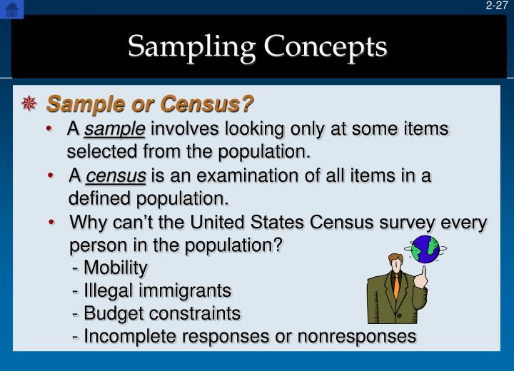 Why can't the United States Census survey every person in the population?