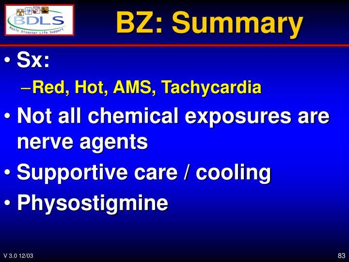 BZ: Summary