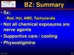 bz summary