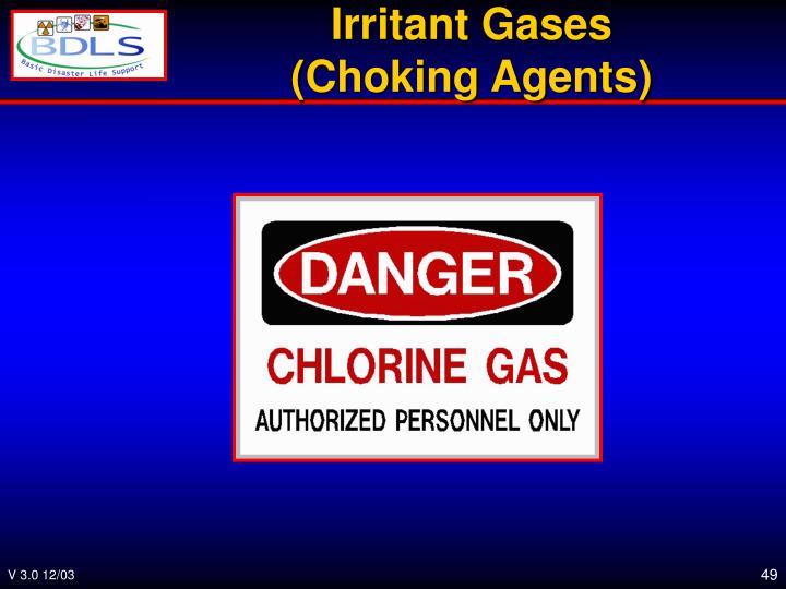 Irritant Gases