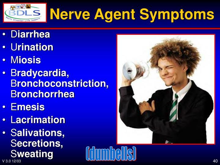 Nerve Agent Symptoms