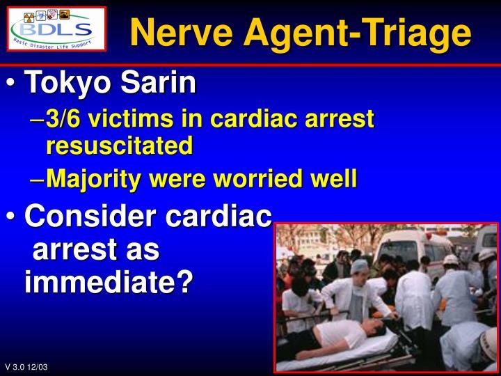 Nerve Agent-Triage