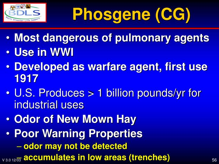 Phosgene (CG)
