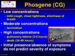 phosgene cg1