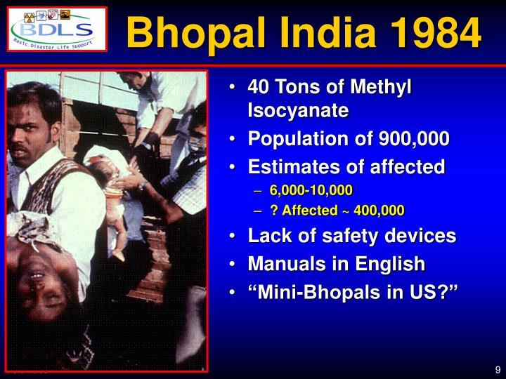 Bhopal India 1984