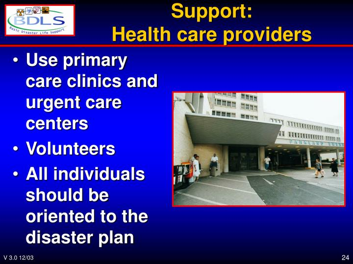 Use primary care clinics and urgent care centers