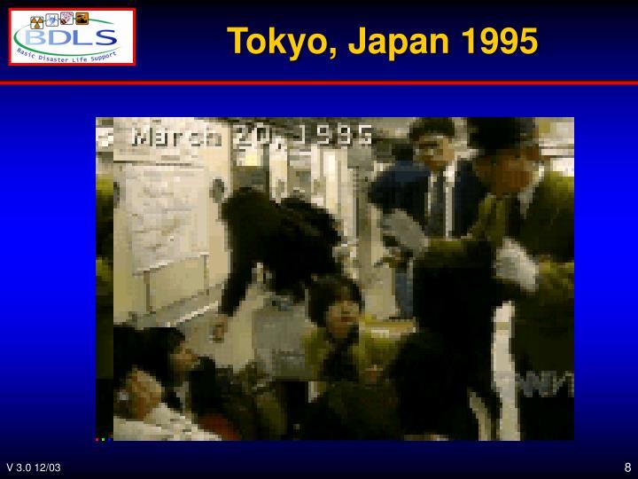 Tokyo, Japan 1995