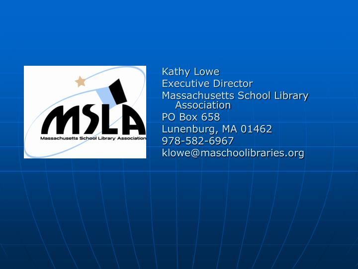 Kathy Lowe