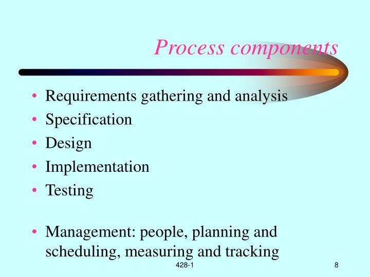 Process components