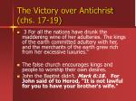 the victory over antichrist chs 17 1929