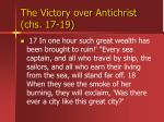 the victory over antichrist chs 17 1940