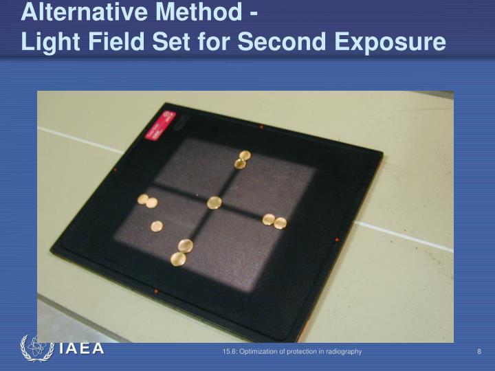 Alternative Method -