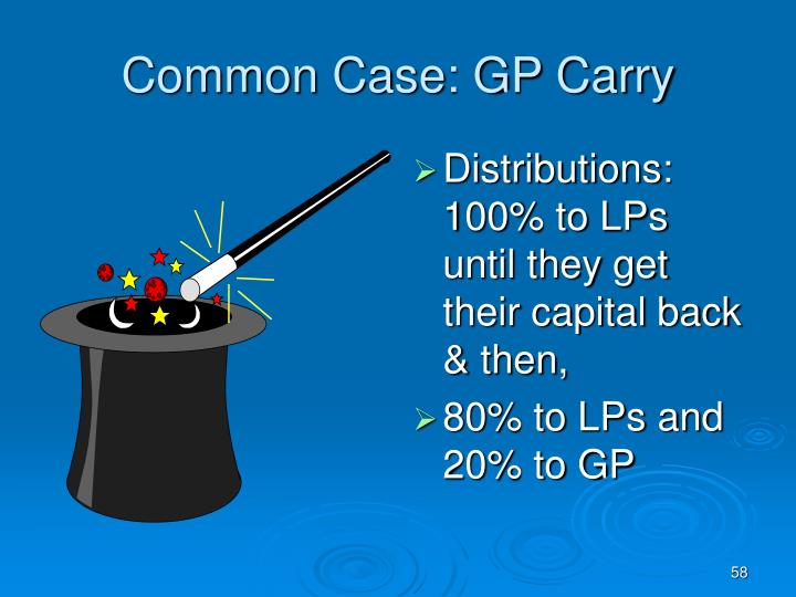 Common Case: GP Carry