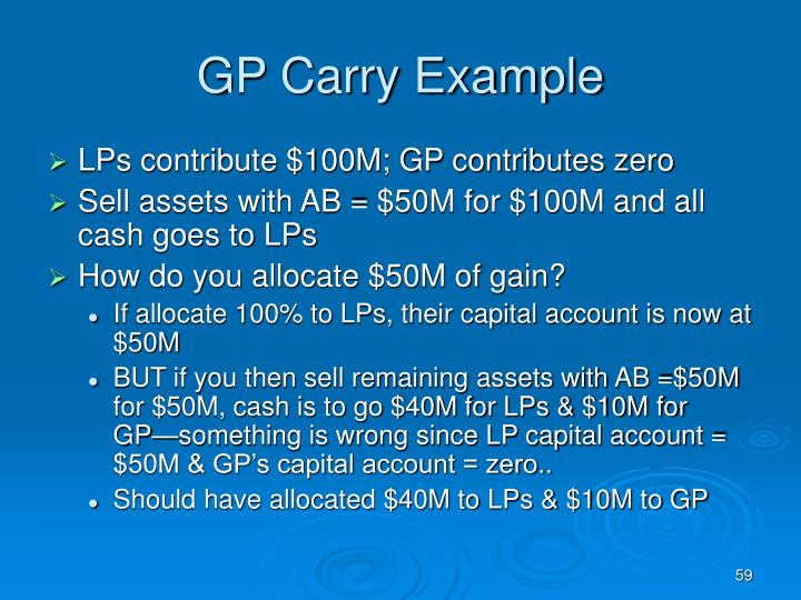 GP Carry Example
