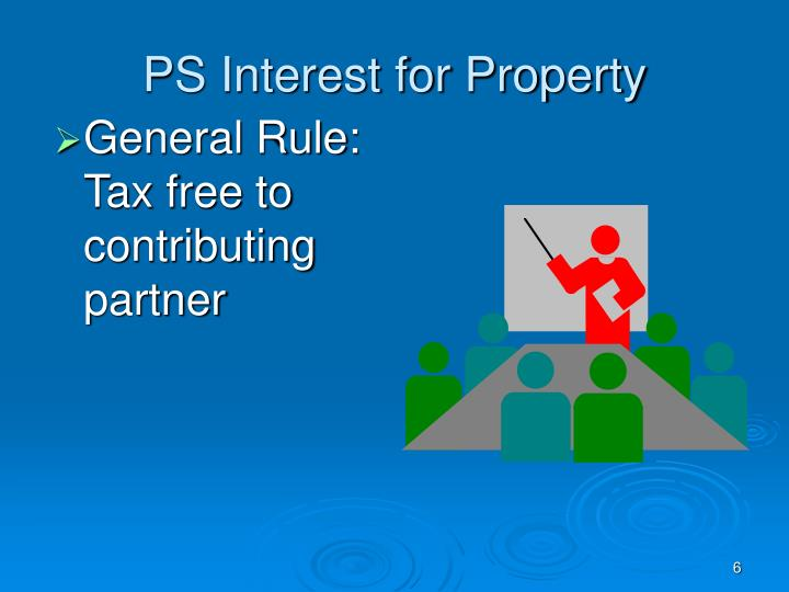 PS Interest for Property