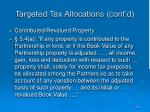 targeted tax allocations cont d2