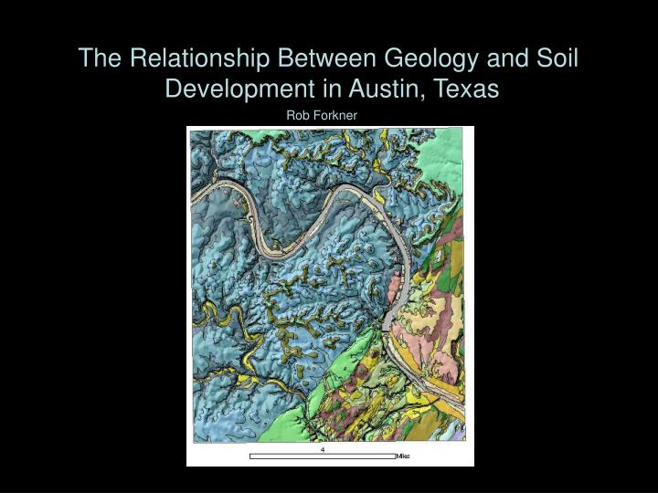 The Relationship Between Geology and Soil