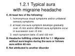 1 2 1 typical aura with migraine headache1