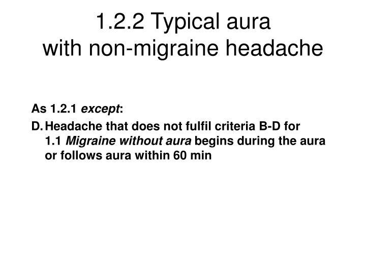 1.2.2 Typical aura