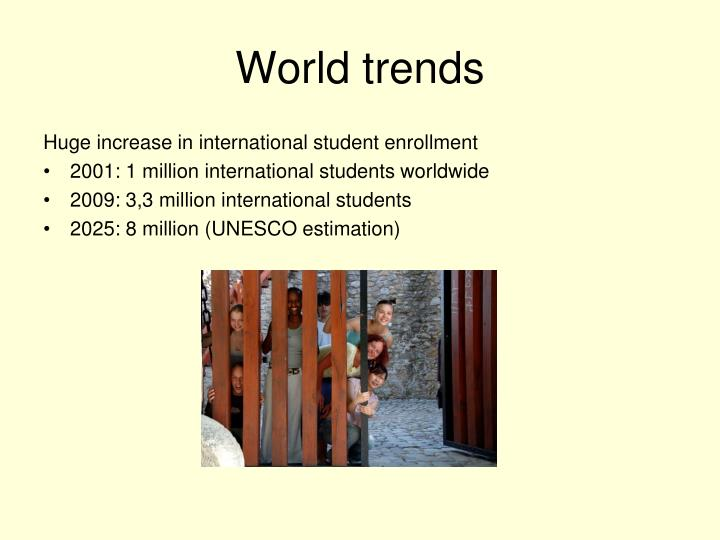 World trends