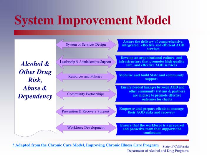 System Improvement Model