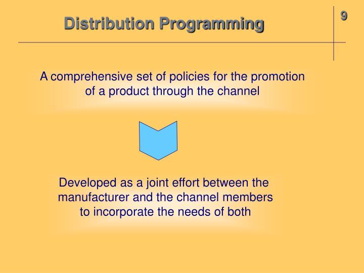 Distribution Programming