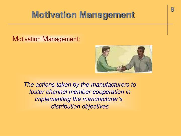 Motivation Management