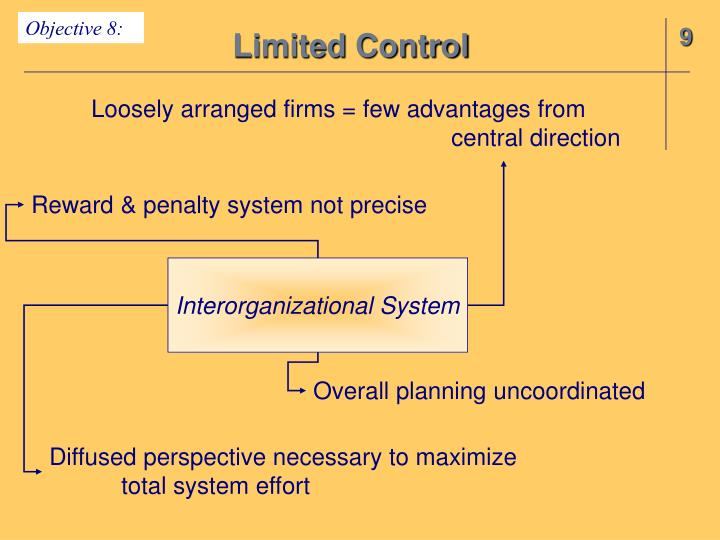 Limited Control