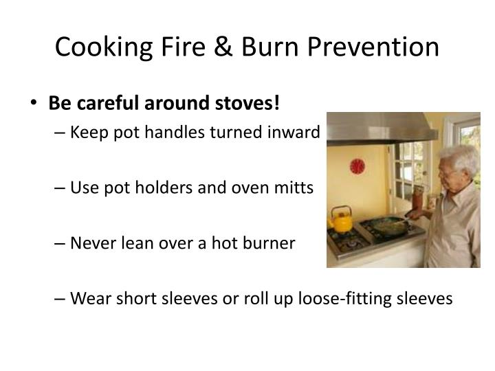 Cooking Fire & Burn Prevention