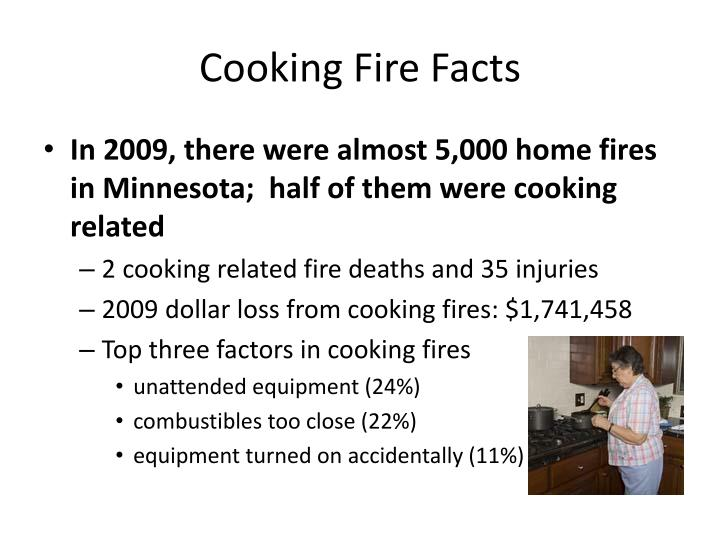 Cooking Fire Facts