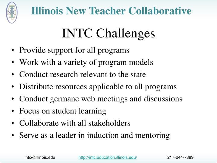 INTC Challenges
