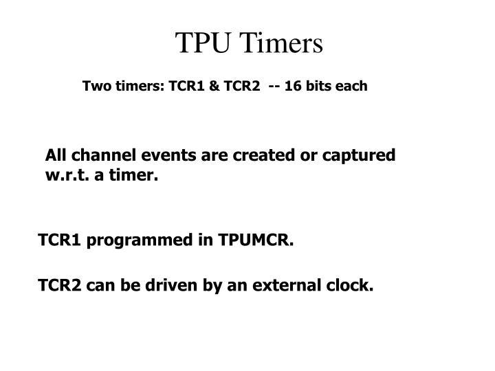 TPU Timers